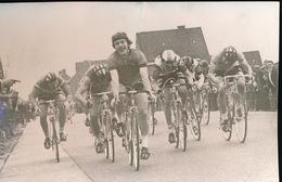 WOESTEN  1973  FOTO 15 X 10  CM   - DANNY CORNEILLE IN SPURT KRITERIUM WESTHOEK - Vleteren