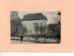 Carte Postale - Château Du Palais Prés BOURGANEUF - D23 - Bourganeuf