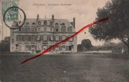 (Oise) Cuts, Environs De Noyon - 60 - Le Château, Façade Sud (circulé 1906) - Altri Comuni