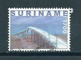 2000 Suriname Bridge F1700 Used/gebruikt/oblitere - Suriname