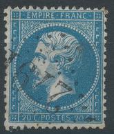Lot N°44914   N°22, Oblit GC 2791 Pas-en-Artois, Pas-de-Calais (61), Ind 5 - 1862 Napoleon III