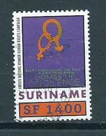 2001 Suriname Unifem F1400 Used/gebruikt/oblitere - Suriname