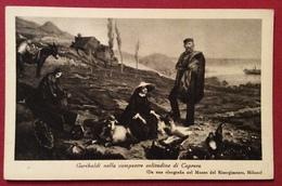 GARIBALDI AGRICOLTORE NELLA SOLITUDINE DI CAPRERA  EDIZIONE PER I 50 ANNI DELLA MORTE - Cartoline