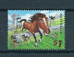 2005 Australia $1.00 Paard,horse,pferd Used/gebruikt/oblitere - Gebruikt