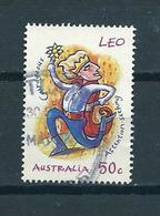 2007 Australia Zodiac,Leo SHEET Used/gebruikt/oblitere - Gebruikt