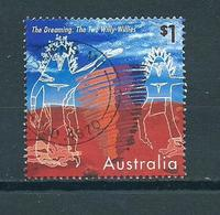 1997 Australia $1.00 The Dreaming Used/gebruikt/oblitere - 1990-99 Elizabeth II