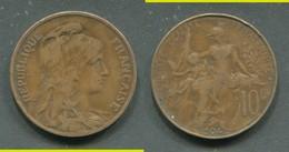 10 CENTIMES DUPUIS 1904 - France