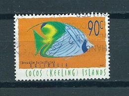 1997 Australia Cocos Keeling Islands Vissen,fish,poisson 90 Cent Used/gebruikt/oblitere - Cocos (Keeling) Islands