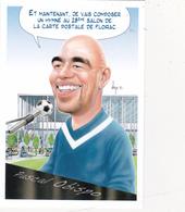 CPM Pirate Carte Pirate (33) FLOIRAC 2015 Pascal OBISPO Tirage Limité Signée Illustrateur B. VEYRI - Collector Fairs & Bourses