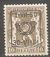 België Typo Nr. 605 - Preobliterati