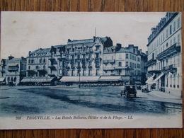 14 - TROUVILLE - Les Hôtels BELLEVUE, HILDER Et De La Plage. - Trouville