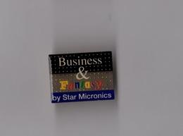 Pin's Informatique / Imprimante Star Miconics - Business & Fantasy - Computers