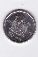 50 CENTS - 2013 - Jeux Paraolympique ( Yrès Belle Pièce - Neuve) - Fidji