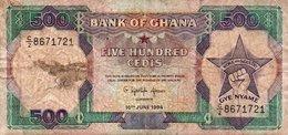 GHANA 500 CEDIS 1994 P-28 - Ghana