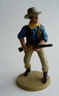 FIGURINE DEL PRADO FAR WEST JOHN WAYNE SHERIFF  1-32è Soldat De Plomb COWBOY - Tin Soldiers