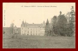 Ploermel * Chateau De Crévy    ( Scan Recto Et Verso ) - Ploërmel