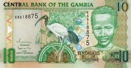 GAMBIA 10 DALASIS 2009 P-26a2  UNC - Gambia