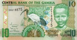 GAMBIA 10 DALASIS 2009 P-26a2  UNC - Gambie