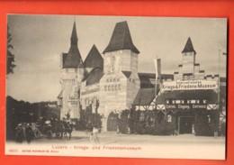 EBD-03 Luzern Kriegs- Und Friedensmuseum.  Nicht Gelaufen - LU Lucerne