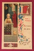 I GRANDI AMORI NELLA STORIA LAURA E PETRARCA  CARTOLINA N.V. - Cartoline