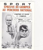 CPM Pirate Carte Pirate (33) FLOIRAC 1992 Perchoir Hommes Politiques Tirage Limité Signée Illustrateur B. VEYRI - Collector Fairs & Bourses