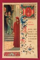 I GRANDI AMORI NELLA STORIA DANTE E BEATRICE    CARTOLINA N.V. - Cartoline