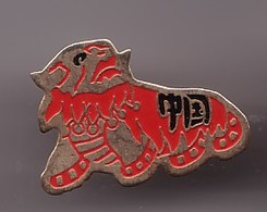 Pin's Chine Le Dragon Chinois Réf 1025 - Cities