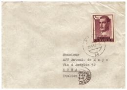 OS03) AUSTRIA 1957-Storia Postale - 1945-60 Storia Postale