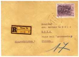 OS09)AUSTRIA 1959-Storia Postale -Raccomandata - 1945-.... 2a Repubblica
