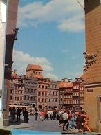 POLAND  WARSZAWA Widok Na Rynek Starego Miasta STAMP TIMBRE SELO 5zt TRENO TRAIN LOKOMOTYW GX5715 - Polonia