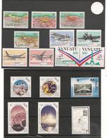 VANUATU  Année 1989 Complète N° Y/T : 822/837** Et Blocs N° 12/14** Côte :65,40 € - Vanuatu (1980-...)