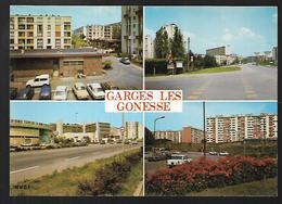 Cpm 9518585 Garges Les Gonesse  4 Vues Situées  Sur Carte , Avenue Lénine, Les Mouettes, Dame Blanche - Garges Les Gonesses