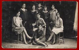 4-27597 NEA ORESTIADA Greece 1928. Women. Photo PC Size. RPPC - Personas Anónimos