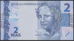 Brazil 2 Reais 2010 P252d UNC - Brazil