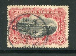 CONGO BELGE- Y&T N°51- Oblitéré - 1894-1923 Mols: Usados