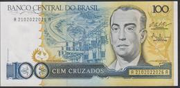Brazil 100 Cruzados 1986 P211c UNC - Brazil
