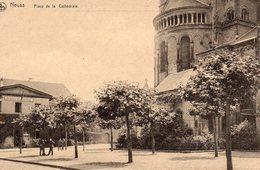 NEUSS : Place De La Cathédrale (au Verso Est Indiqué : Centres De Récréation Au Front Belge) Voir Scans - Neuss