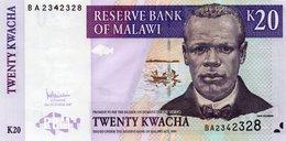 MALAWI 20 KWACHA 2007 P-52 UNC - Malawi