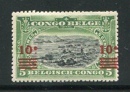 CONGO BELGE- Y&T N°86- Neuf Avec Charnière * - 1894-1923 Mols: Neufs