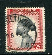 CONGO BELGE- Y&T N°258- Oblitéré - Congo Belge
