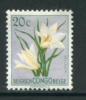 CONGO BELGE- Y&T N°304- Neuf Avec Charnière * (fleur) - 1947-60: Neufs
