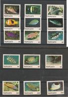 VANUATU Poissons/Fishes Année 1987  N° Y/T : 769/783** Côte : 31,75 € - Vanuatu (1980-...)