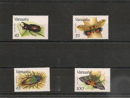 VANUATU Insectes Année 1987  N° Y/T : 784/787** Côte : 24,50 € - Vanuatu (1980-...)