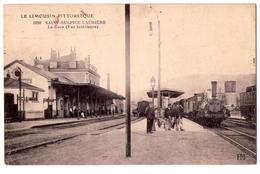 3278 - Saint-Sulpice Laurière - La Gare - N°1699 - P.M. - - Francia