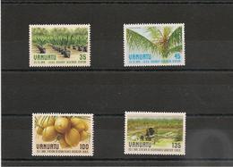 VANUATU Insectes Année 1987  N° Y/T : 759/62** - Vanuatu (1980-...)