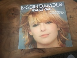166/ FRANCE GALL BESOIN D AMOUR , MONOPOLIS - Vinyl Records