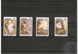 VANUATU Noël Année 1987  N° Y/T : 788/791** - Vanuatu (1980-...)