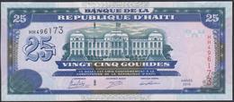 Haiti 25 Gourdes 2015 P266f  UNC - Haiti