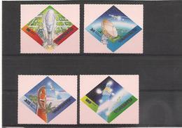 VANUATU Espace/Space Année 2000  N° Y/T : 1089/92** - Vanuatu (1980-...)