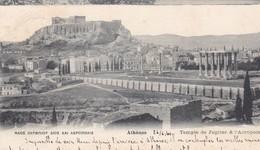 ATHENES / TEMPLE JUPITER ET ACROPOLE / NON DIVISEE 1904 - Grèce